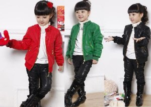 Hot-sell-Free-Shipping-children-leather-jacket-coat-jacket-clothes-wholesale